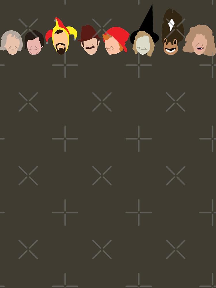 NDVH Rentaghost characters by nikhorne