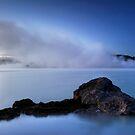 Blue Steamy Dawn by Michael Treloar