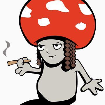 Smokin Shroom by aShocka