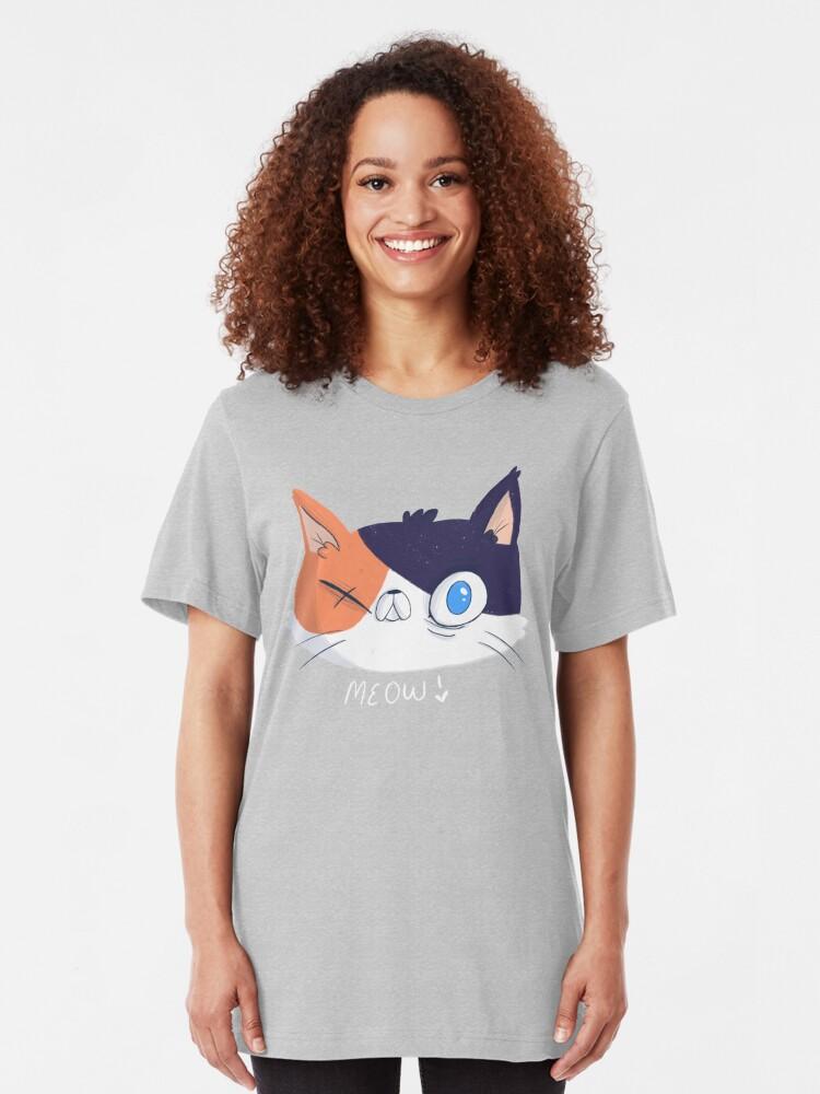 Alternate view of CatSteven Slim Fit T-Shirt