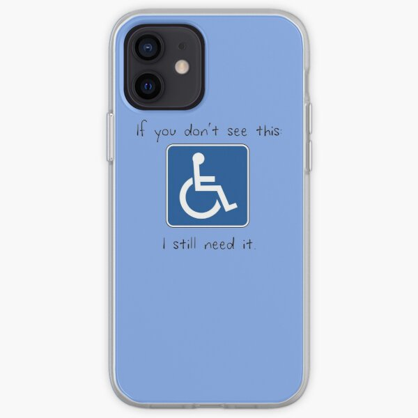Accessibility is a Human Right iPhone Soft Case