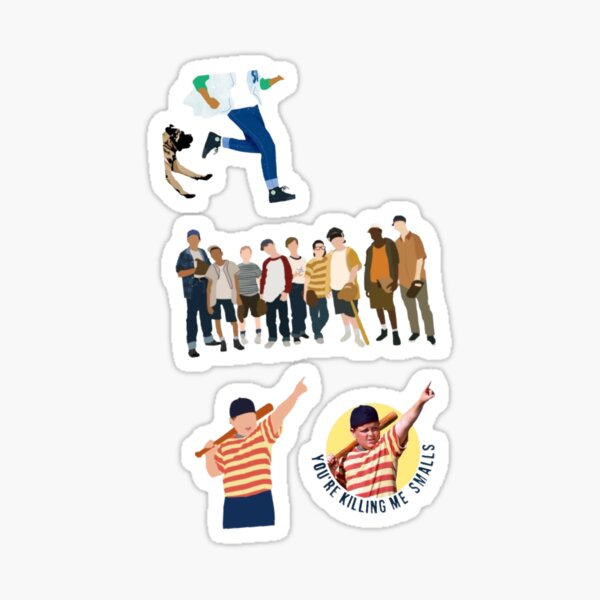 The sandlot 4 pack  Sticker