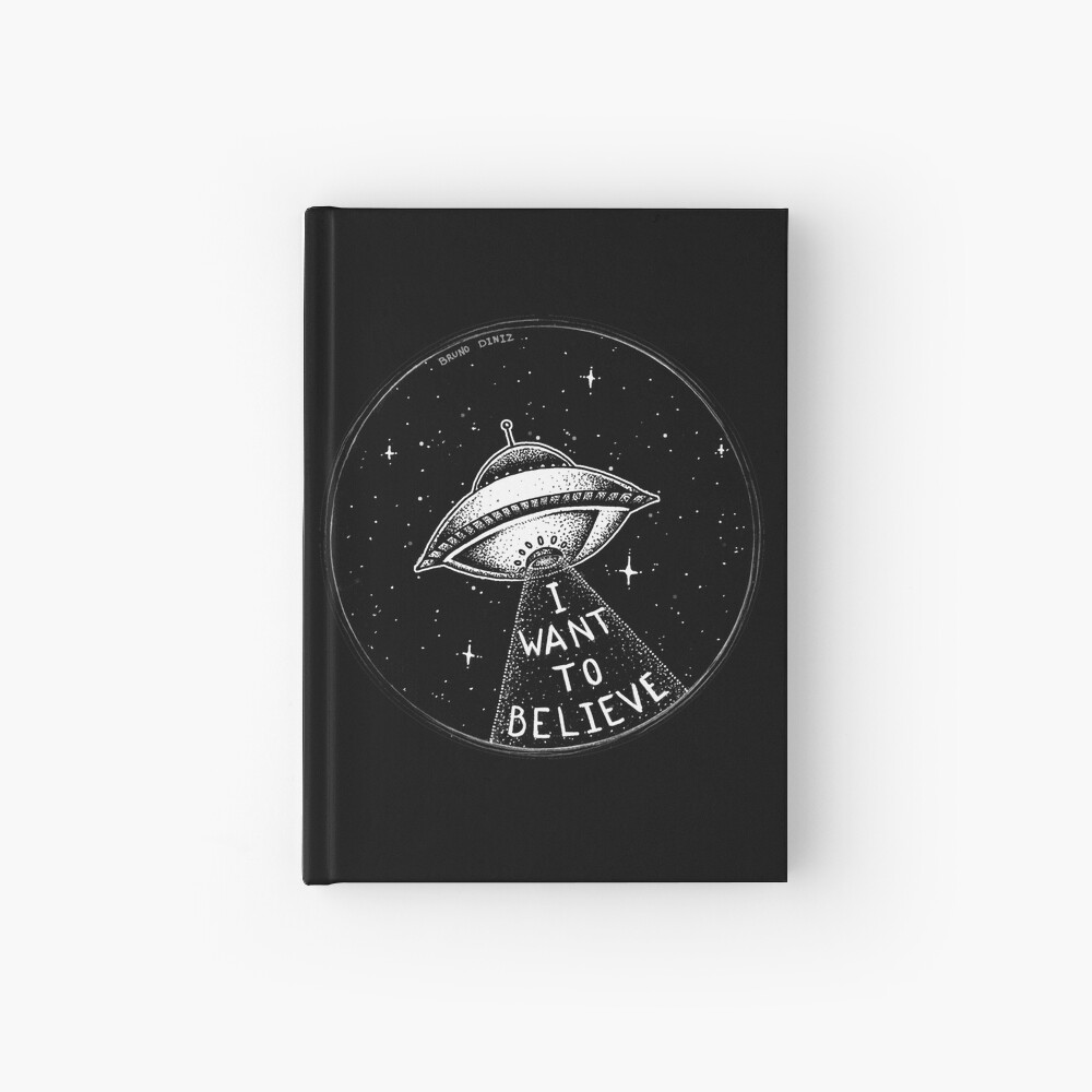 I want to believe Hardcover Journal