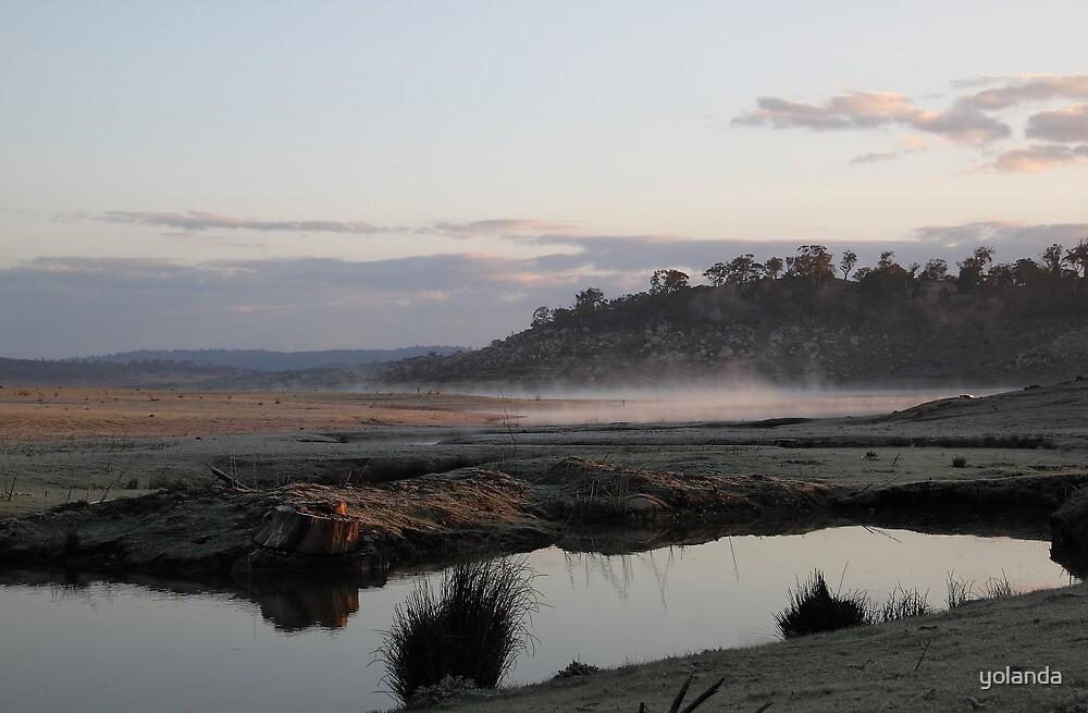 Mist on the Water by yolanda