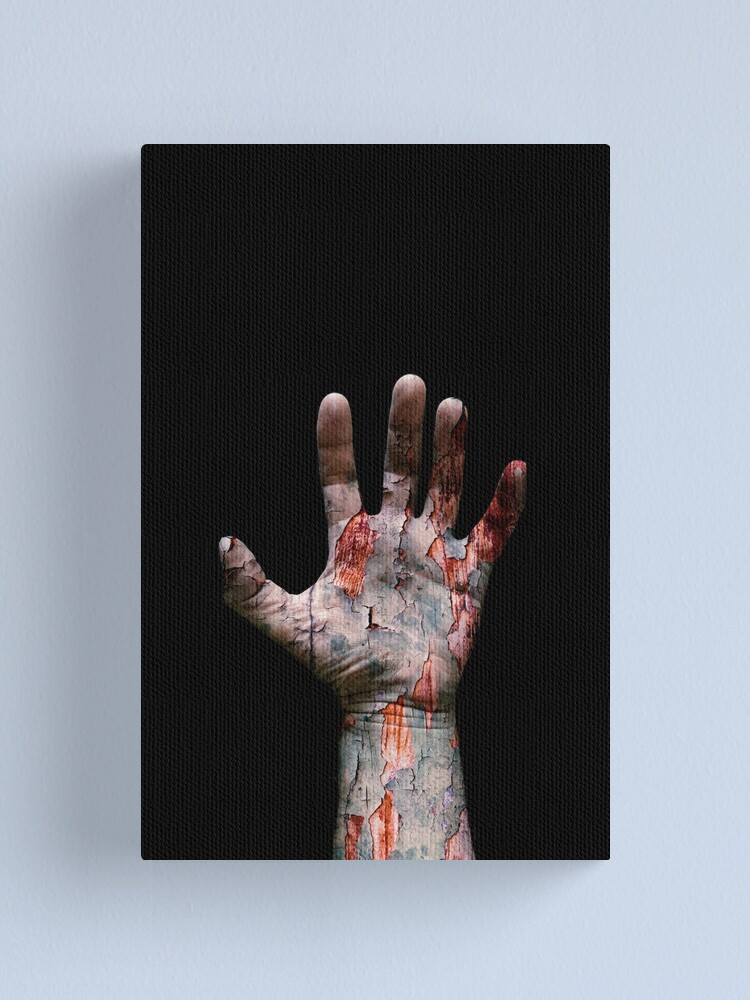 Alternate view of The Hand Canvas Print