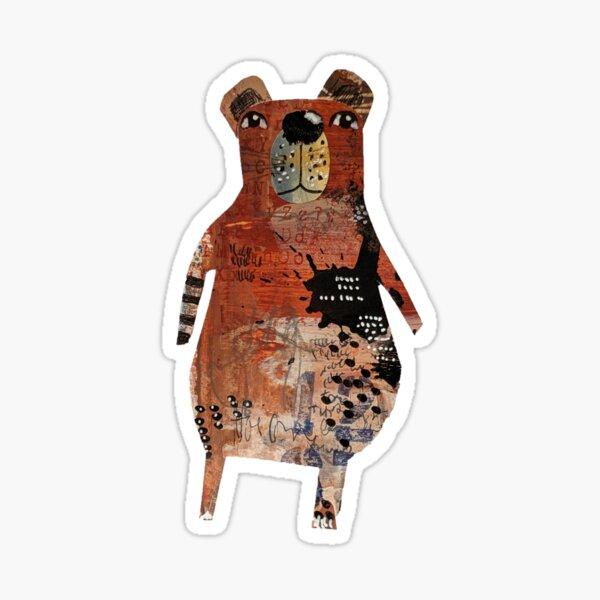 Hiya Gerald Bear Sticker