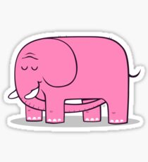 Elephellatio PINK Sticker