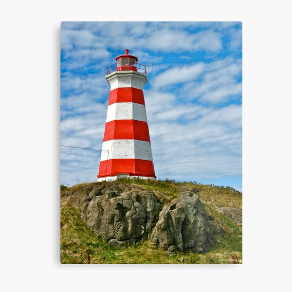 Brier Island (West) Lighthouse Metal Print
