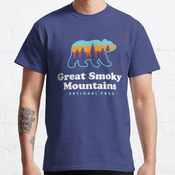 Great Smoky Mountains National Park Bear Classic T-Shirt