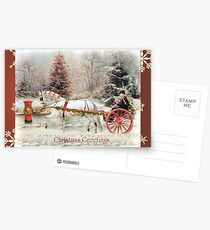 On The Road To Christmas  Postcards