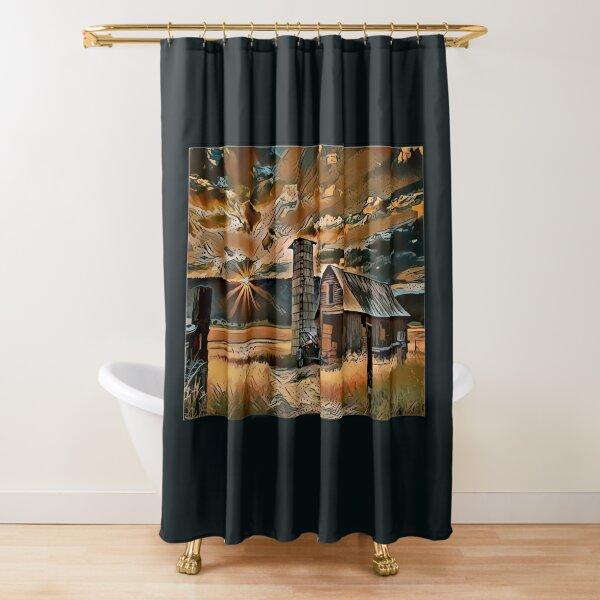 Amaretto Sunset Shower Curtain