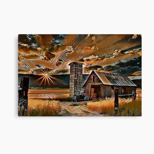 Amaretto Sunset Canvas Print