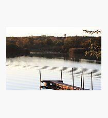 Ripples on the Lake- Wonder Lake, IL Photographic Print