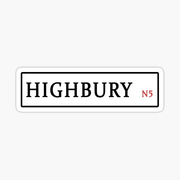 Highbury Sticker