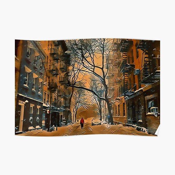 Amaretto Snow Day Poster