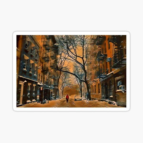 Amaretto Snow Day Sticker