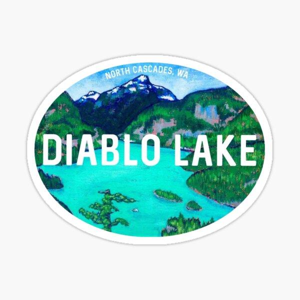 Diablo Lake Souvenir Sticker