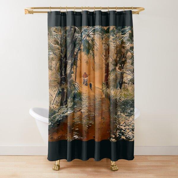 Amaretto Explorers Shower Curtain