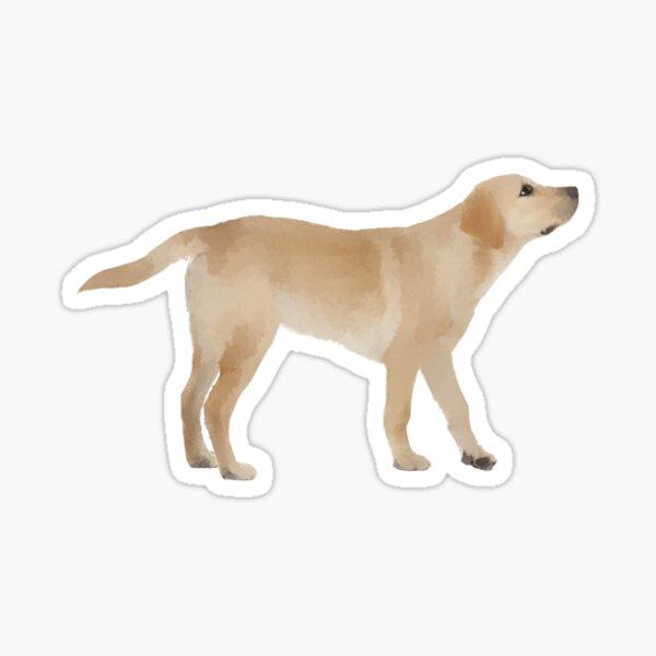 puppy painting  Sticker