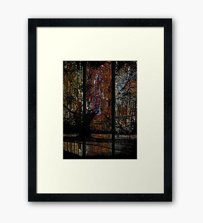 Swamp Lust Framed Print