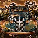 Amaretto Back Road by Fran Lafferty