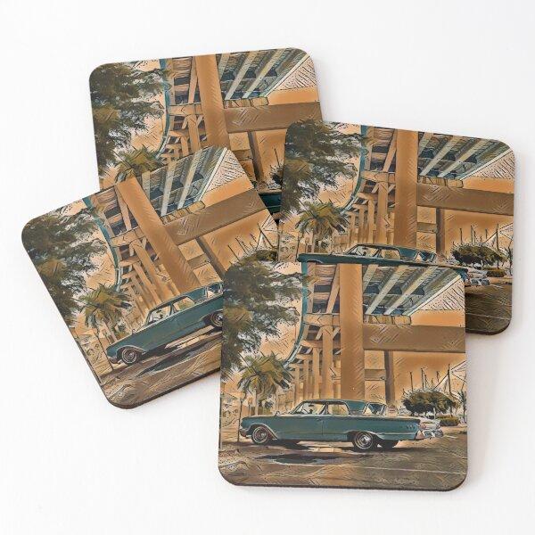 Amaretto Suburbanite Coasters (Set of 4)