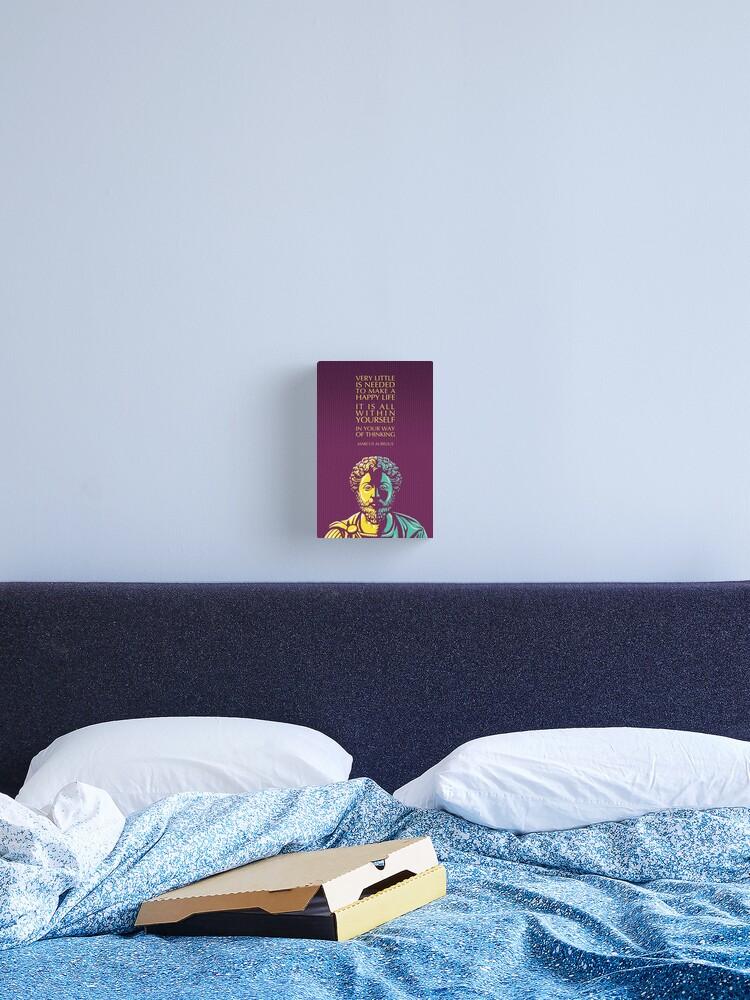 Marcus Aurelio cita cartel 01 Foto Impresión de Arte Regalo Meditaciones