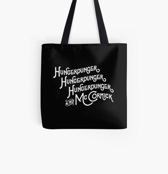 Hungerdunger, Hungerdunger, Hungerdunger & McCormick All Over Print Tote Bag