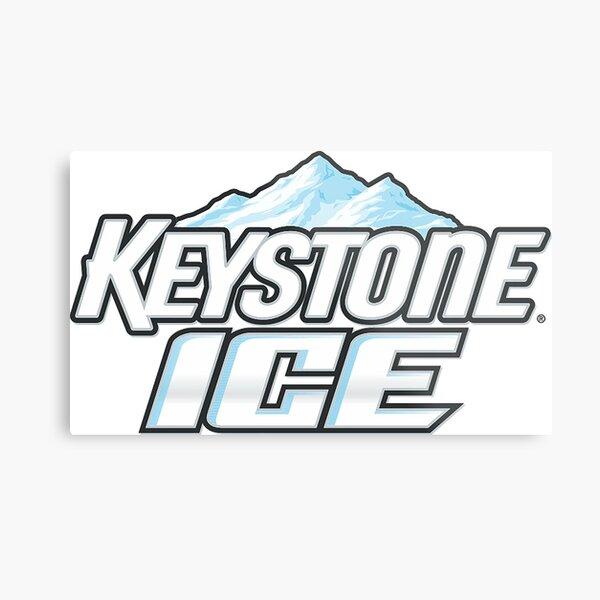 Keystone Light Metal Print