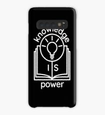 knowledge is power  Case/Skin for Samsung Galaxy