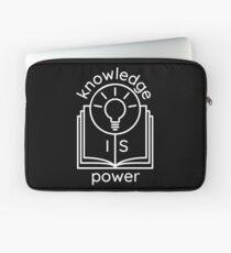 knowledge is power  Laptop Sleeve