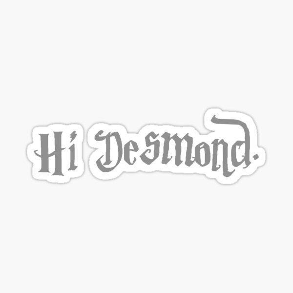 Potter Desmond Sticker