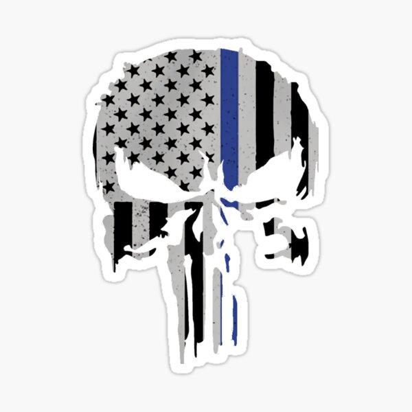 Military Skull [Tactical Flag] V2 Sticker