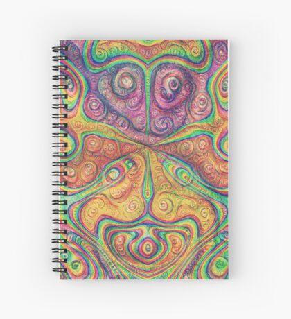 Alien deep dreams Spiral Notebook