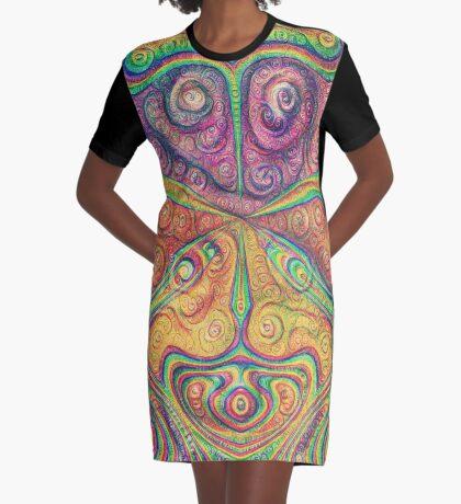 Alien deep dreams Graphic T-Shirt Dress