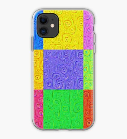 Deep Dreaming of a Color World 2K 2 iPhone Case