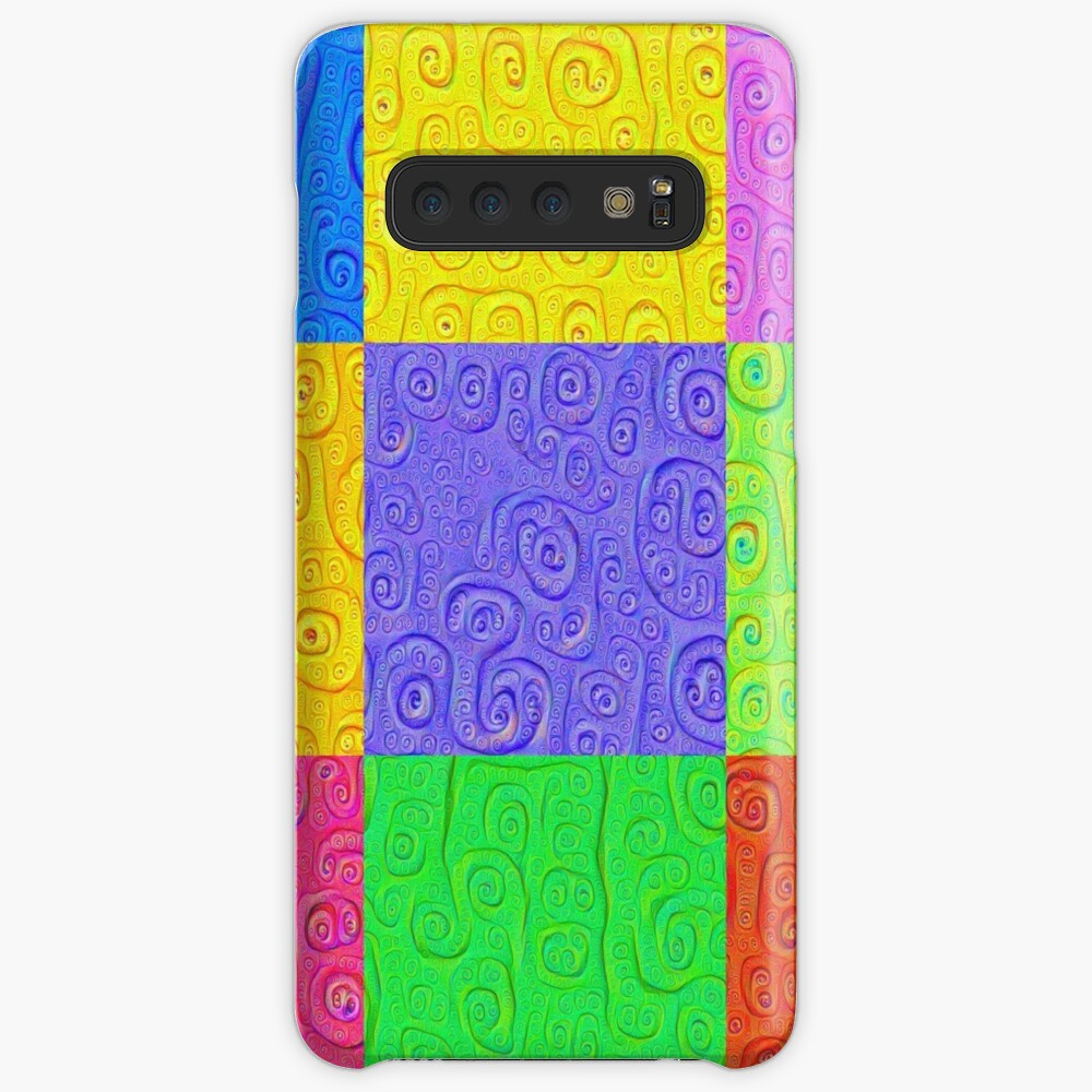 Deep Dreaming of a Color World 2K 2 Case & Skin for Samsung Galaxy