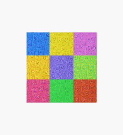 Deep Dreaming of a Color World 2K 2 Art Board Print