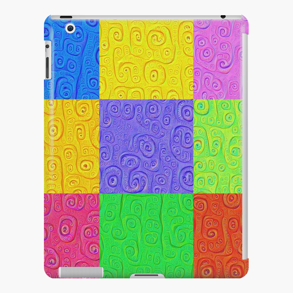 Deep Dreaming of a Color World 2K 2 iPad Case & Skin