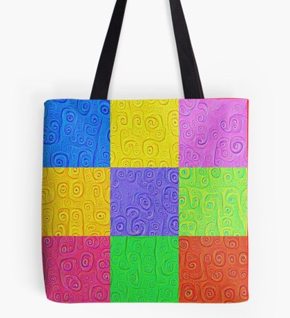 Deep Dreaming of a Color World 2K 2 Tote Bag