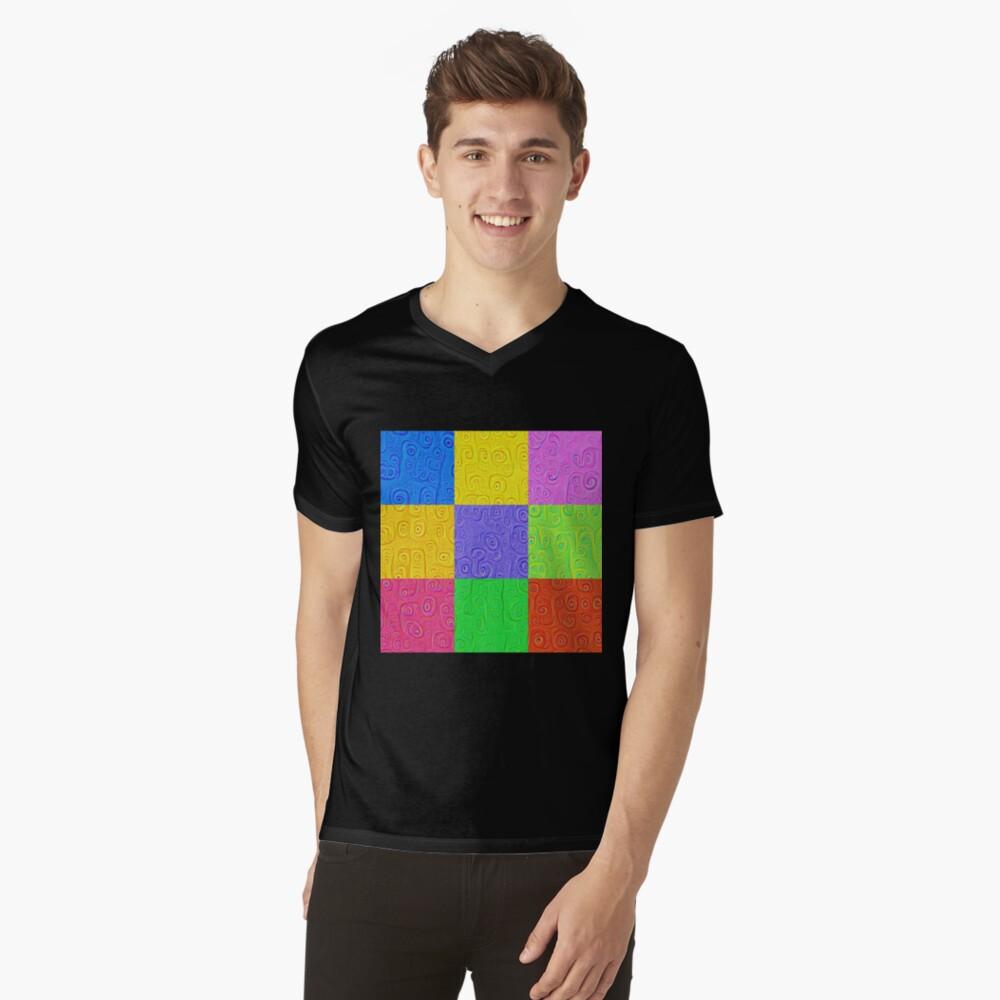 Deep Dreaming of a Color World 2K 2 V-Neck T-Shirt