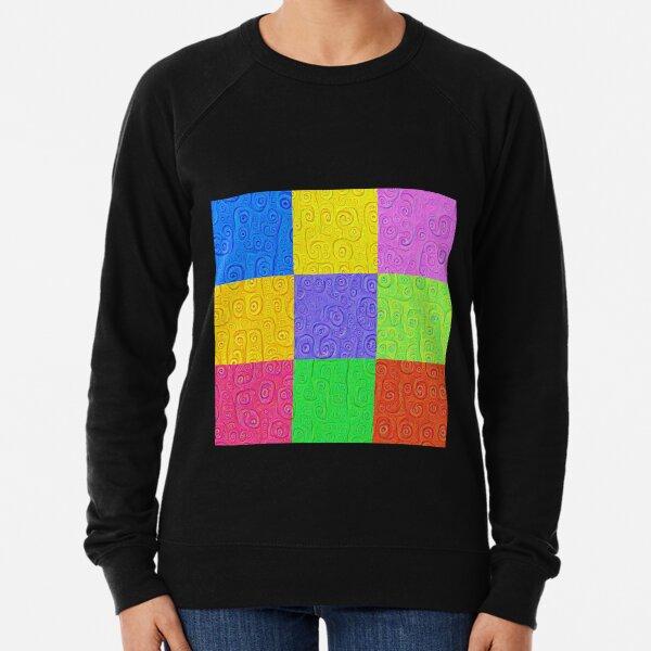 Deep Dreaming of a Color World 2K 2 Lightweight Sweatshirt