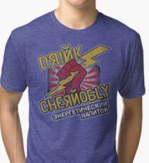 Chernobly Energy Drink Tri-blend T-Shirt