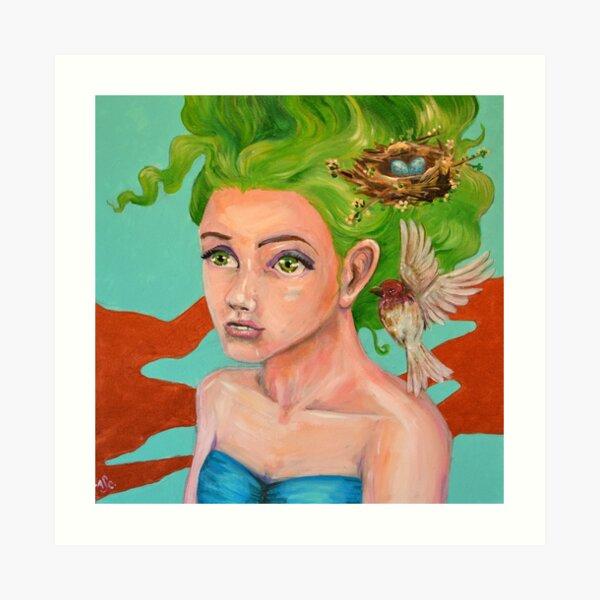 Feathered Nest Art Print