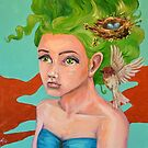 Feathered Nest by Amanda  Shelton