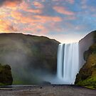 Skogafoss, Iceland by Paul Pichugin
