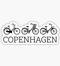 Copenhagen Bicycle - Danish by Design Sticker