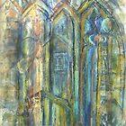 Skipton Castle Windows 1 by Susan Scott