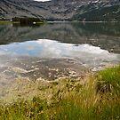 Calm lake by fos4o