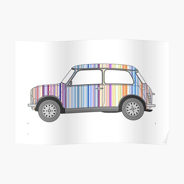 Mini Stripes Poster